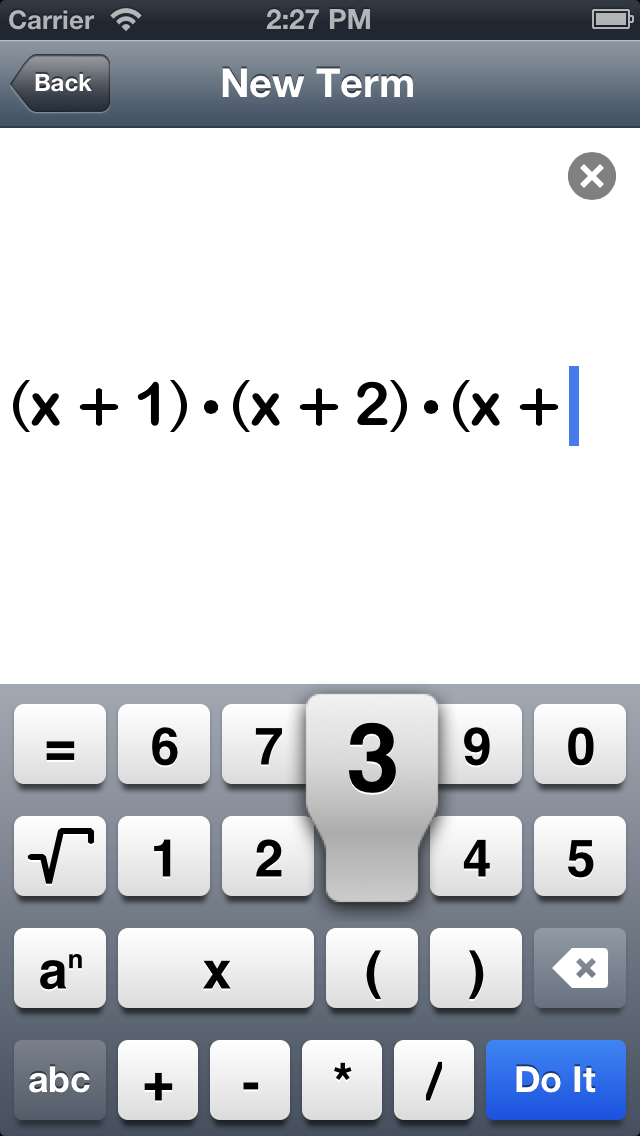 Polynom math made easy screenshots iphone fandeluxe Choice Image